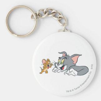 Tom and Jerry Make Faces Keychain