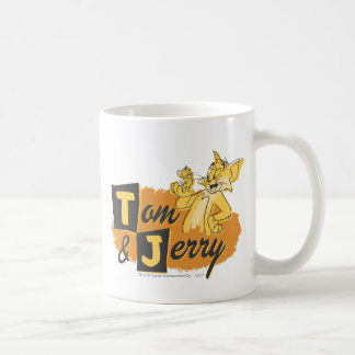 Tom and Jerry Mouse In Paw Logo Coffee Mug