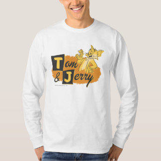 Tom and Jerry Mouse In Paw Logo Shirt