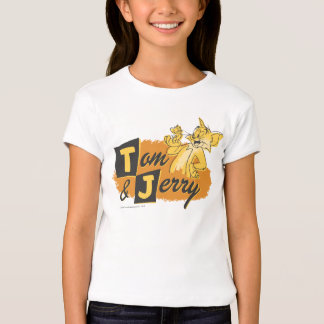 Tom and Jerry Mouse In Paw Logo T-Shirt