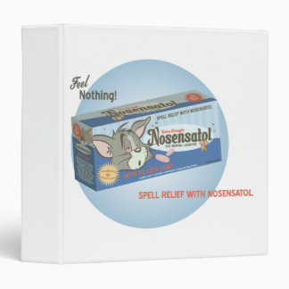 Tom and Jerry Nosensatol 2 3 Ring Binder