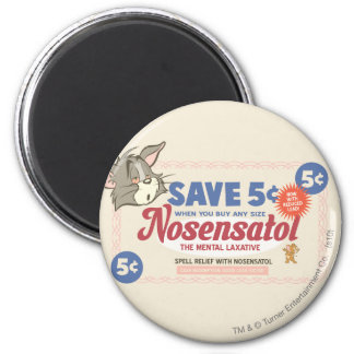 Tom And Jerry Nosensatol Coupon 2 Inch Round Magnet