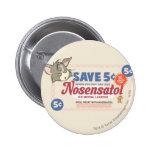 Tom And Jerry Nosensatol Coupon Buttons
