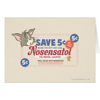Tom And Jerry Nosensatol Coupon Card