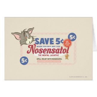 Tom And Jerry Nosensatol Coupon Cards