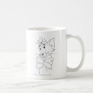 Tom and Jerry On Head Coffee Mug