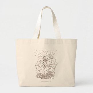 Tom and Jerry Outline Canvas Bags