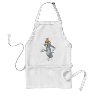 Tom and Jerry Pair Adult Apron