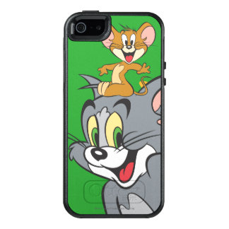 Tom and Jerry Pair OtterBox iPhone 5/5s/SE Case