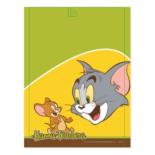 Tom And Jerry Postcard