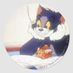 Tom And Jerry Read a Book Stickers