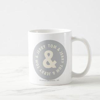 Tom and Jerry Round Logo 1 Coffee Mug