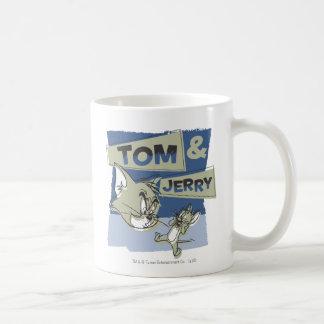 Tom and Jerry Scaredey Mouse Coffee Mug
