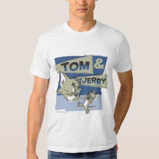 Tom and Jerry Scaredey Mouse Tee Shirt