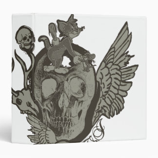 Tom and Jerry Skull Binder