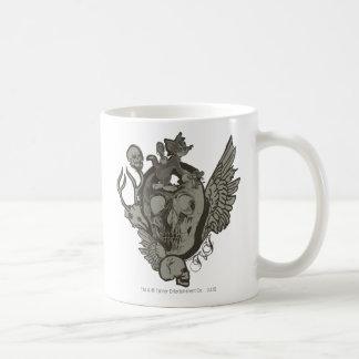 Tom and Jerry Skull Coffee Mug