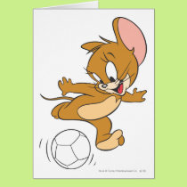 Tom and Jerry Soccer (Football) 2 Card
