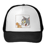 Tom and Jerry Stamp Trucker Hats