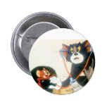 Tom And Jerry Stethescope Buttons