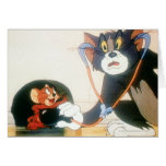 Tom And Jerry Stethescope Greeting Cards