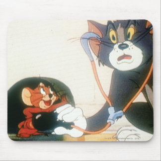 Tom And Jerry Stethescope Mouse Pad