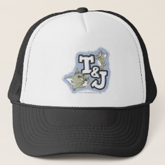 Tom and Jerry T&J Logo Trucker Hat