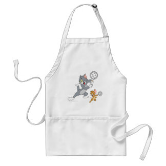 Tom and Jerry Tennis Stars 1 Adult Apron