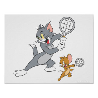 Tom And Jerry Tennis Stars 1 Poster Part 89