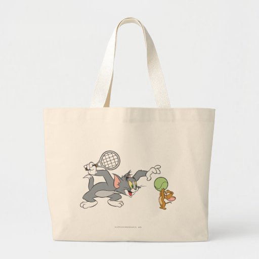 Tom and Jerry Tennis Stars 2 Canvas Bags