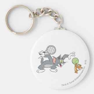 Tom and Jerry Tennis Stars 2 Keychain