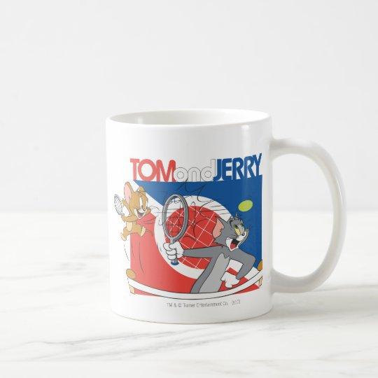 Tom and Jerry Tennis Stars 4 Coffee Mug
