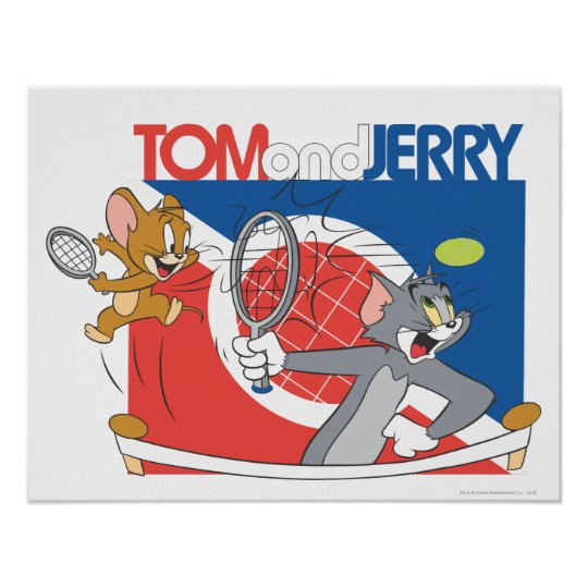 Tom and Jerry Tennis Stars 4 Poster