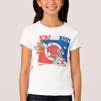 Tom and Jerry Tennis Stars 4 T-Shirt