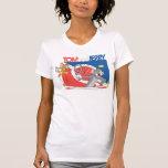 Tom and Jerry Tennis Stars 4 Tee Shirt