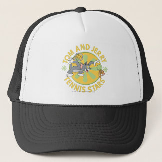 Tom and Jerry Tennis Stars 5 Trucker Hat