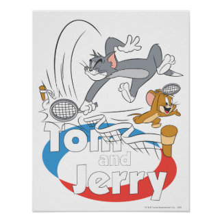 Tom and Jerry Tennis Stars 7 Poster