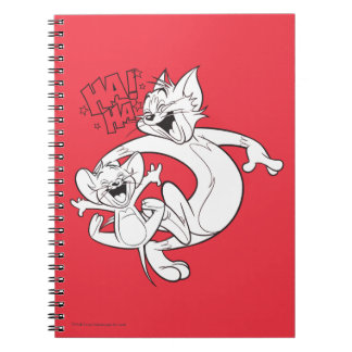 Tom And Jerry | Tom And Jerry Laughing Notebook