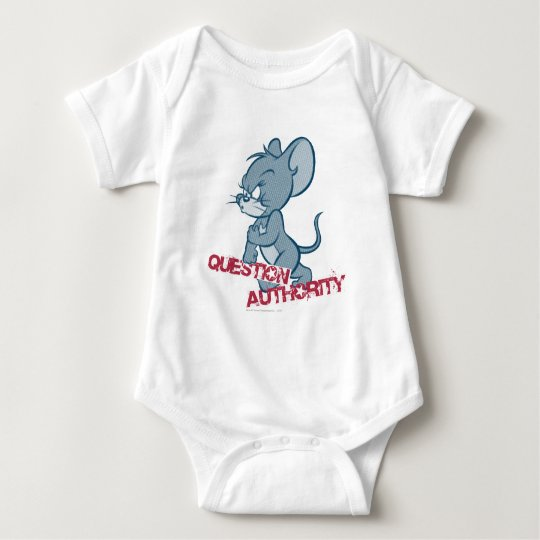 Tom and Jerry Tough Mouse 2 Baby Bodysuit