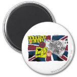 Tom and Jerry UK Overload 2 Inch Round Magnet