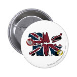 Tom and Jerry UK Overload 2 Pinback Button