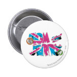 Tom and Jerry UK Overload Pinback Button