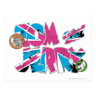 Tom and Jerry UK Overload Postcard