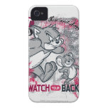 Tom and Jerry Watch Your Back iPhone 4 Case