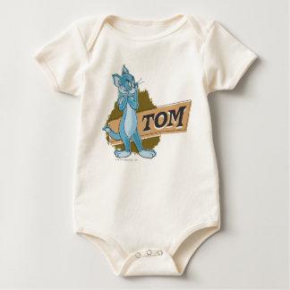 Tom Attitude Logo Baby Creeper