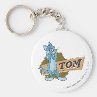 Tom Attitude Logo Keychain