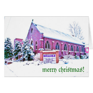 """Tom Atwood Media """"St. Andrew's Christmas"""" Greeting Card"""