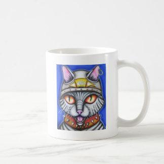 Tom Boy Cat Classic White Coffee Mug
