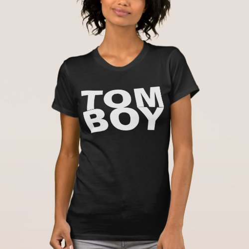 TOM BOY. T-Shirt