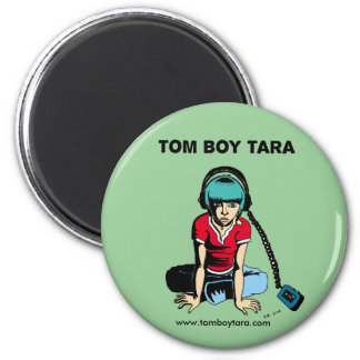 Tom Boy Tara Earphones Magnet