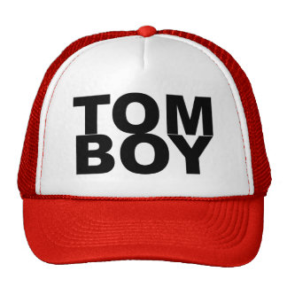 TOM BOY. TRUCKER HAT